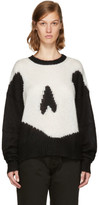 McQ Black Giant Swallow Sweater