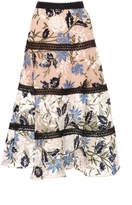 Alexis M'O Exclusive Dayla A Line Midi Skirt