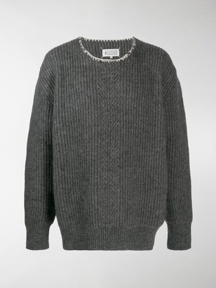 Maison Margiela Ribbed-Knit Jumper