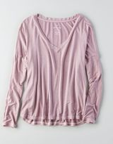 American Eagle AEO Soft & Sexy Drop Shoulder T-Shirt