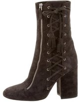 Laurence Dacade Suede Lace-Up Ankle Boots