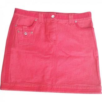 Louis Vuitton \N Orange Denim - Jeans Skirt for Women