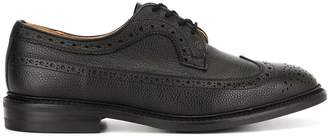Tricker's Trickers pebbled textured brogues