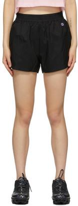 Champion Reverse Weave Black C Concept Shorts
