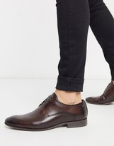 dansey formal shoes in brown leather