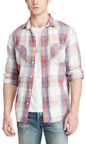 Denim & Supply Ralph Lauren Plaid Cotton Twill Shirt, Multi