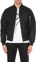 Boy London Eagle emblem bomber jacket