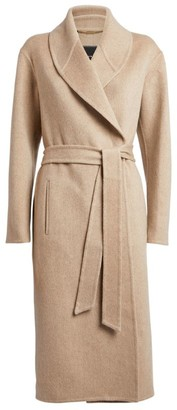 Kiton Cashmere Belted Coat