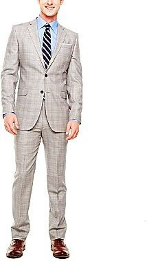 JCPenney Stafford® Glen Plaid Wool Suit Separates
