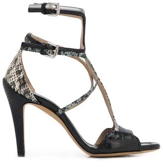 Chloé Cage Stiletto Sandals