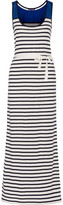 Petit Bateau Striped cotton maxi dress