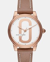 Marc Jacobs Corie Brown Analogue Watch