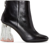 Acne Studios Black Ora Glass Boots