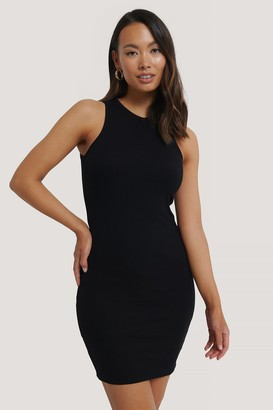 NA-KD Ribbed Racerback Dress