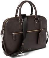 Polo Ralph Lauren Men's Pebbled Leather Briefcase
