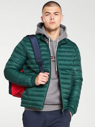Tommy Hilfiger Packable Down Jacket - Ivy Green