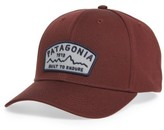 Patagonia Men's Arched Type Roger That Baseball Cap - Red