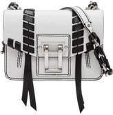 Proenza Schouler Smooth Leaher Hava Chain Cross Body Whipstitch