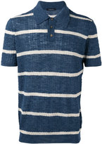 Roberto Collina polo top - men - Cotton/Linen/Flax/Polyester - 48