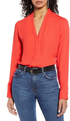 Halogen V-Neck Top