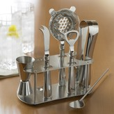 Williams-Sonoma Williams Sonoma Stainless-Steel Bar Tools Set with Stand