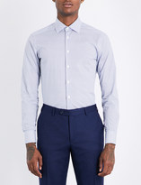 Etro Paisley-pattern slim-fit stretch-cotton shirt