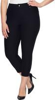 Hue Plus Size Essential Denim Capris Women's Jeans