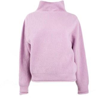 Woolish Kamakura High Neck Merino Sweater Lilac