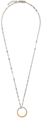 Maison Margiela Silver Numbers Necklace