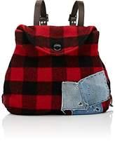 Greg Lauren Women's Flannel Backpack