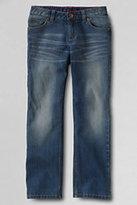 Classic Girls Plus 5-pocket Denim Straight Leg Jeans-Rinsed Deep Wash
