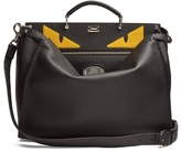Fendi Peekaboo Bag Bugs-appliqué Leather Bag