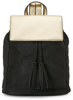 Deux Lux Black & Gold Cortina Backpack