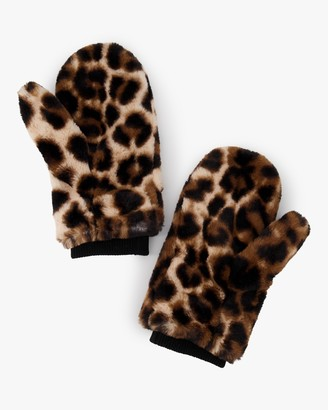 Luxe Faux Fur Mittens