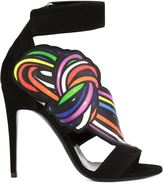 Pierre Hardy 'Scoubi Pop' sandals - women - Leather/Suede - 37