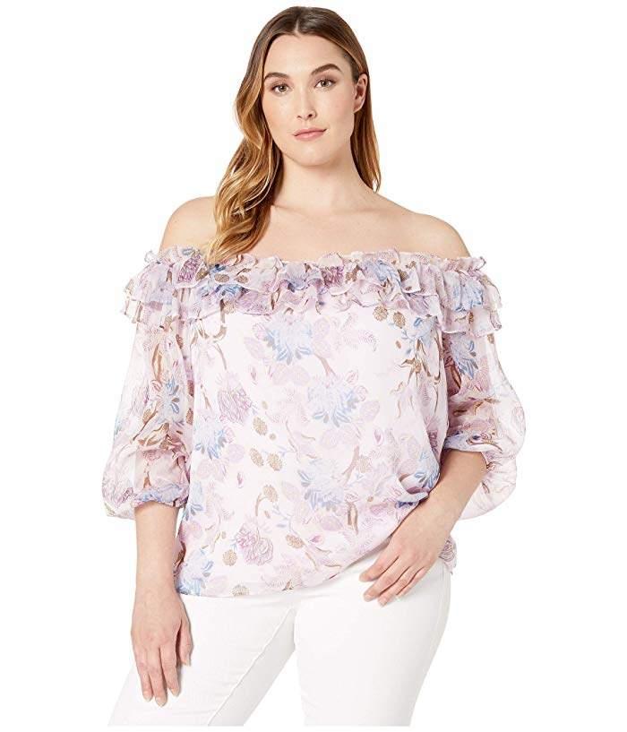 7359fc092424fb Womens Long Sleeve Dressy Tops - ShopStyle