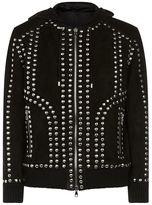 Balmain Studded Suede Jacket