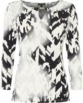 Episode Long sleeved top with abstract print