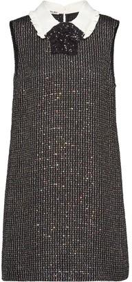 Miu Miu Sequinned Boucle Dress
