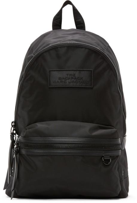 Marc Jacobs Black The Large DTM Backpack