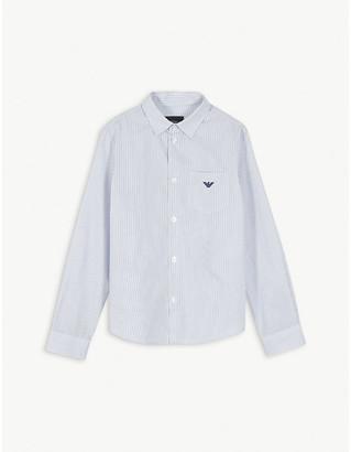 Emporio Armani Striped cotton shirt 4-16 years