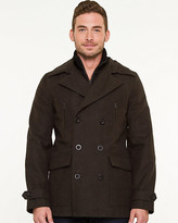 Le Château Moleskin Double Breasted Peacoat