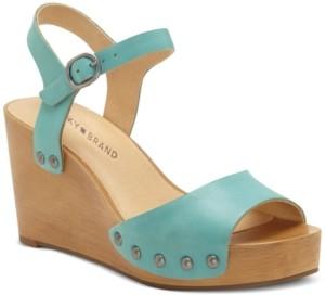 Lucky Brand Women's Zashti Wedge Sandals Women's Shoes