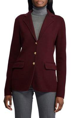 Lauren Ralph Lauren Petite Slim-Fit Cotton Blazer