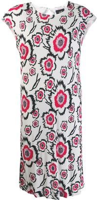 Class Roberto Cavalli floral print T-shirt dress