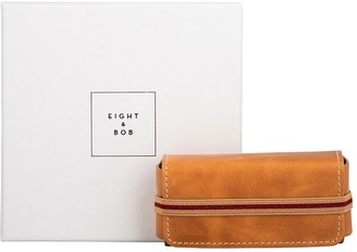 Eight & Bob Camel Leather Fragrance Case 30ml