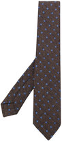 Kiton printed tie - men - Silk/Cotton/Wool - One Size