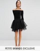 Boohoo Petite Mini Tulle Skirt