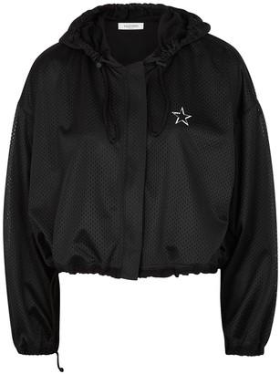Valentino VLTNSTAR black mesh jacket