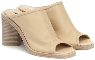 Acne Studios Exclusive to Mytheresa Leather mules